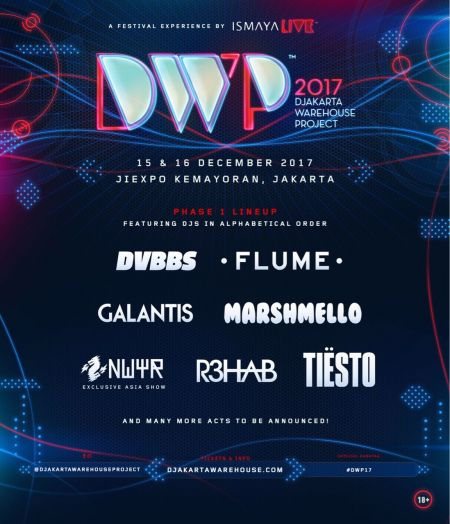 Djakarta Warehouse Project announces its phase-one lineup