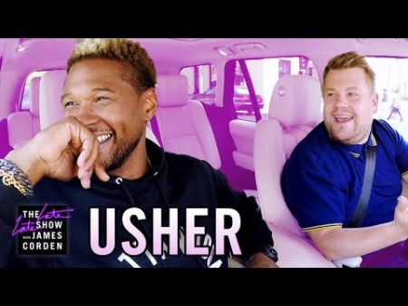 Watch: Usher helps James Corden get his club game on in 'Carpool Karaoke'