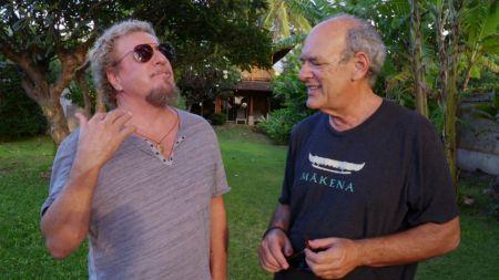 Sammy Hagar catches up with 'Supermensch' Shep Gordon in Maui on 'Rock & Roll Road Trip' July 30 on AXS TV, watch de