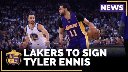 Tyler Ennis agrees to return to Lakers on two-year deal