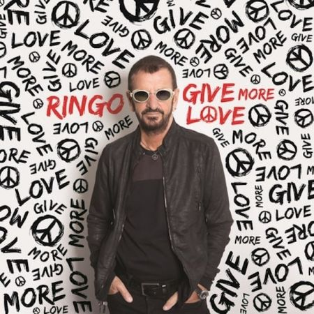 """Ringo Starr recruited some of his old buddies, including Paul McCartney, to perform on his latest single, """"We're on the Road Again."""""""