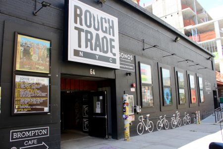 New York City's largest record store, Rough Trade, will be selling select vinyl and hosting artist signings on site at Panorama Festival all