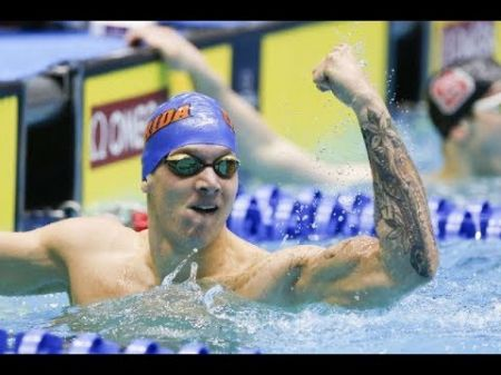 Dressel lowers American record in men's 100m freestyle swimming again
