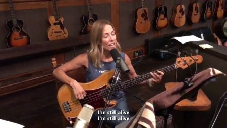 Sheryl Crow pens musical response to Kid Rock's possible Senate bid