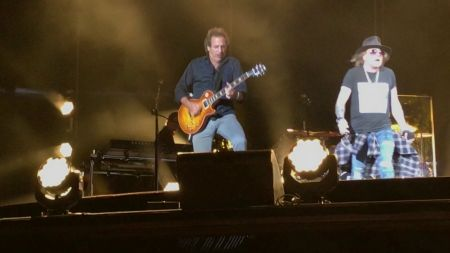 Watch: Billy Joel joined by Axl Rose to perform 'Highway to Hell' in Minneapolis