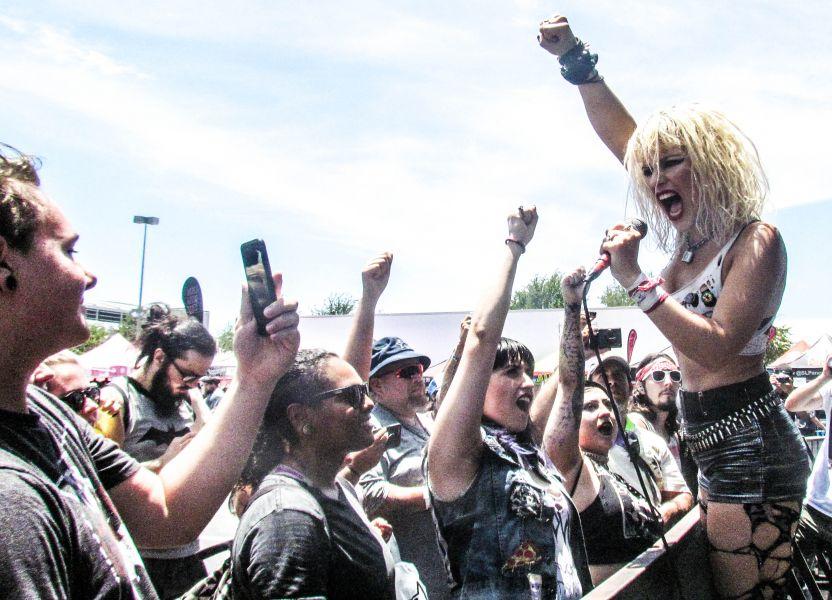 Vans Warped Tour spotlight San Antonio: Barb Wire Dolls
