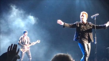 U2 begins recording video footage for new song 'Best Thing'