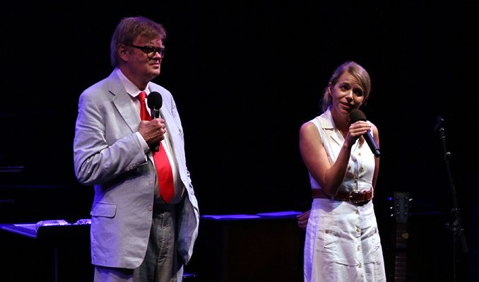 """Garrison Keillor's Prairie Home """"Love and Comedy"""" Show tickets at The Mountain Winery in Saratoga"""