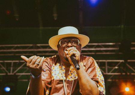 George Clinton proved age is nothing but a number. At 75 years-old the Parliament Funkadelic bandleader still has what it takes to put on a