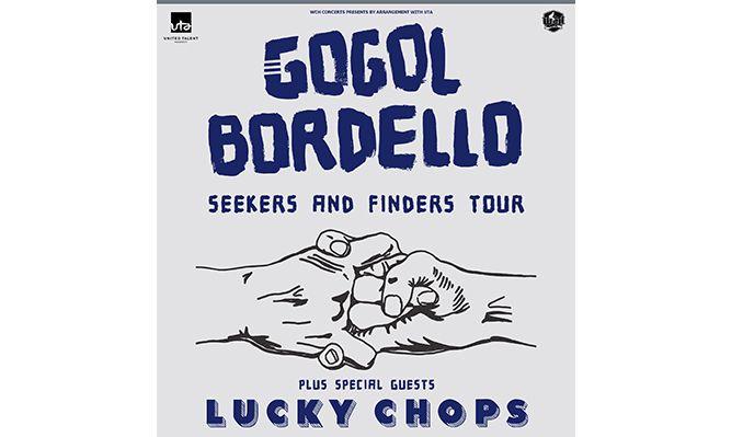 Gogol Bordello tickets at Wulfrun Hall in Wolverhampton