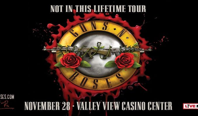 guns n 39 roses tickets in san diego at valley view casino center on tue nov 28 2017 7 00pm. Black Bedroom Furniture Sets. Home Design Ideas