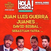 Juan Luis Guerra - Juanes - David Bisbal - Sebastián Yatra tickets at The O2 in London