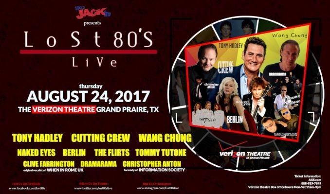 Lost 80's Live tickets at Verizon Theatre at Grand Prairie in Grand Prairie