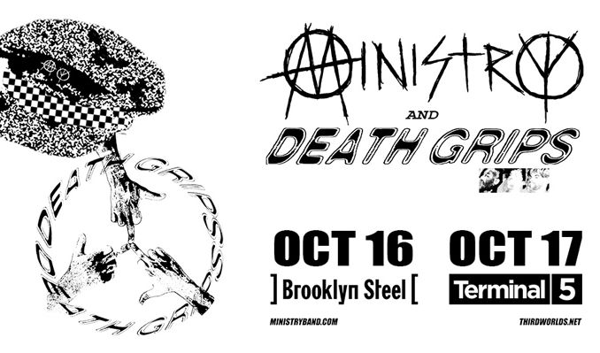 Ministry + Death Grips tickets at Terminal 5 in New York