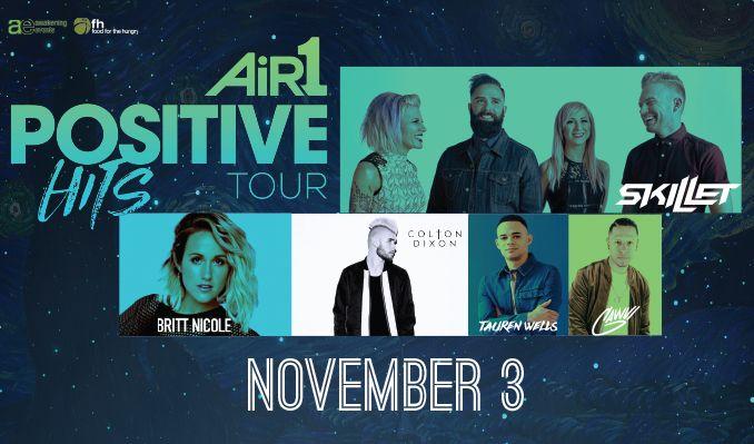 Skillet, Britt Nicole, Colton Dixon, Tauren Wells, GWAVI tickets at Rabobank Arena in Bakersfield