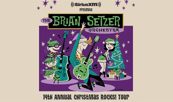 The Brian Setzer Orchestra tickets at The Warfield in San Francisco