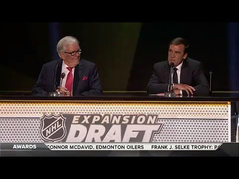 Vegas Golden Knights select four Americans in the 2017 NHL Expansion Draft