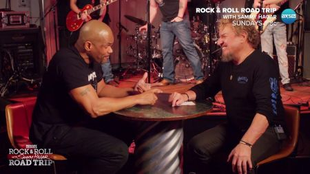 Sammy Hagar kicks it at SXSW on 'Rock & Roll Road Trip' Aug. 6 on AXS TV, watch deleted episode scenes before the episode airs