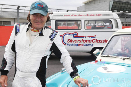 Former ACDC singer Brian Johnson walked away from a pretty epic car wreck during a celebrity race in the U.S. over the weekend.
