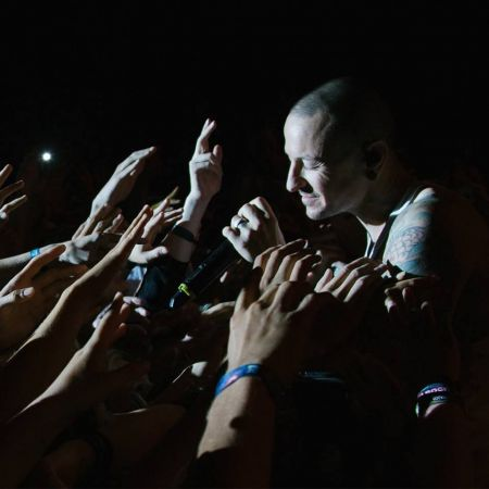 Linkin Park singer Chester Bennington (pictured here) was laid to rest recently in L.A. His powerful voice helped launch Linkin Park to star