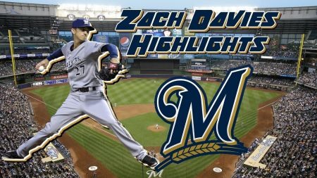Davies pitching effectively lately for the Brewers