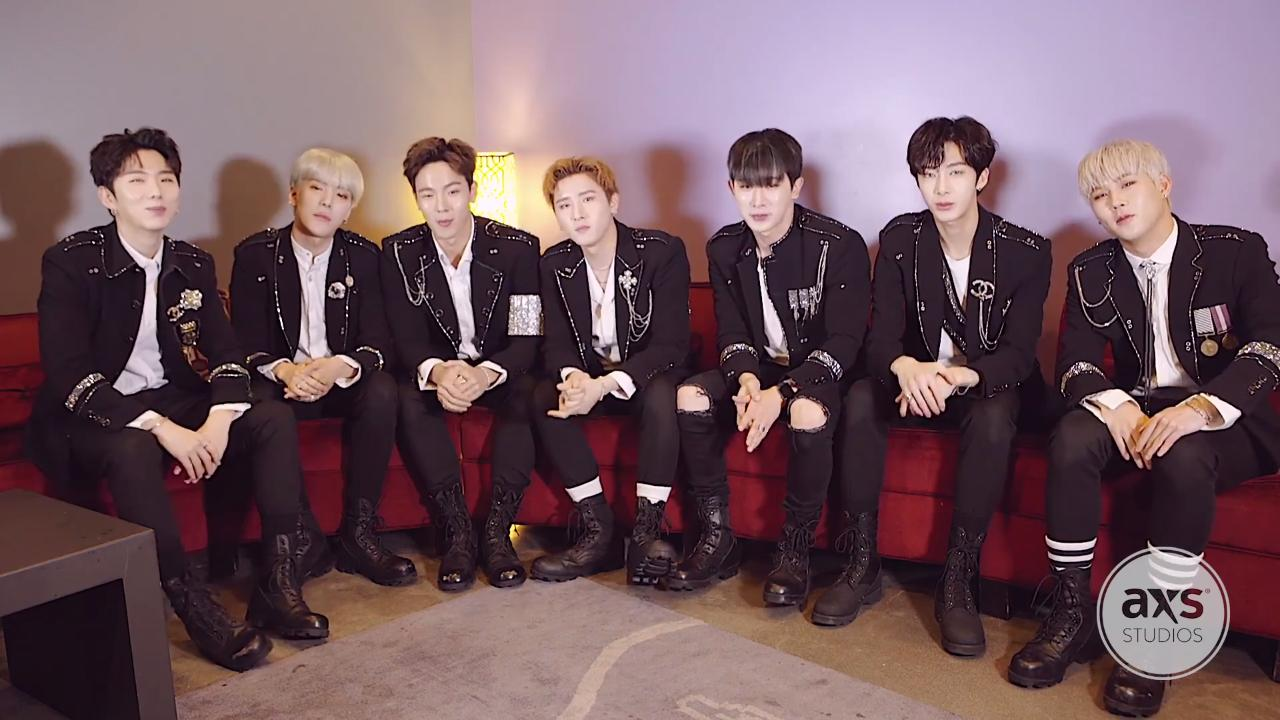 Watch Monsta X on their last stop of the Beautiful in the US tour