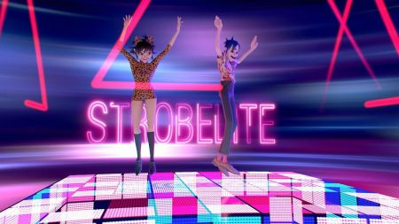 Watch: Gorillaz boogie down in new 'Strobelite' 3D video