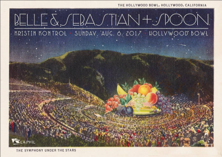 <p>Belle and Sebastian and Spoon were a delightful double-header at the Hollywood Bowl</p>