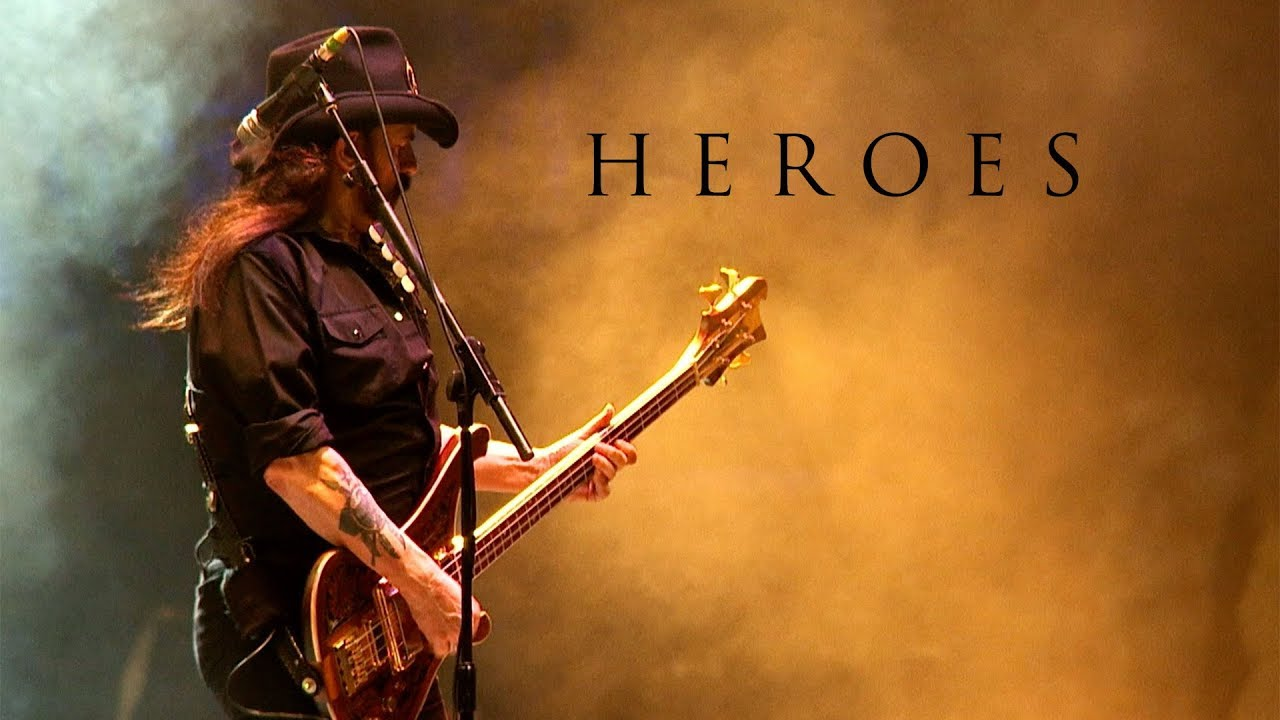 Crowd at Wacken Open Air honors Lemmy Kilmister with Motörhead's cover of David Bowie's 'Heroes'