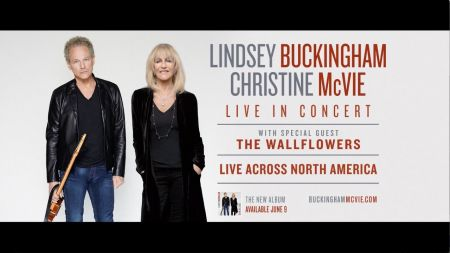 Lindsey Buckingham & Christine McVie announce 2017 US fall tour leg