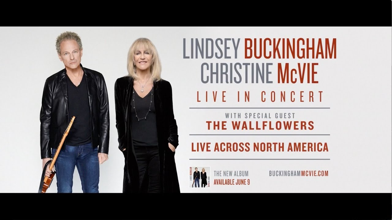 Lindsey Buckingham & Christine McVie announce 2017 US fall tour leg