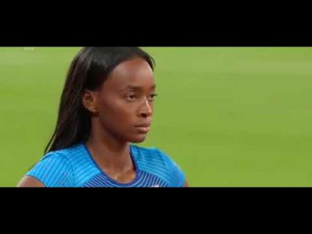 Carter wins gold in women's 400m hurdles at 2017 IAAF World Championships