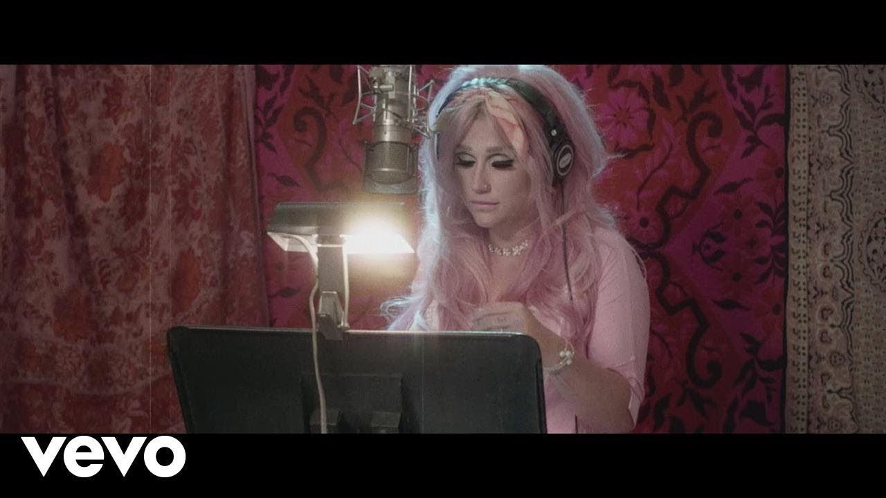 Kesha records marvelous 'Rainbow' song in live music video