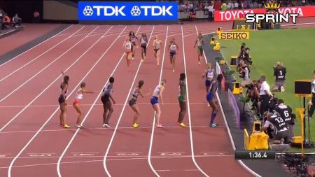 USA wins gold in women's 4x400m at 2017 IAAF World Championships