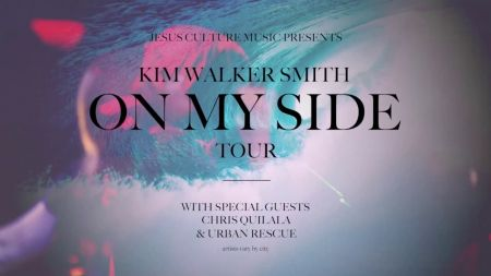 Kim Walker-Smith announces dates for 2017 On My Side Tour