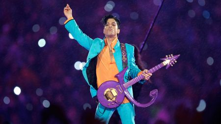 The Pantone Color Institute names official purple hue after Prince