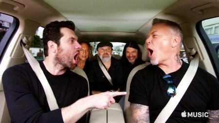 Watch a preview of Metallica playing 'Metal Have I ever' in 'Carpool Karaoke'
