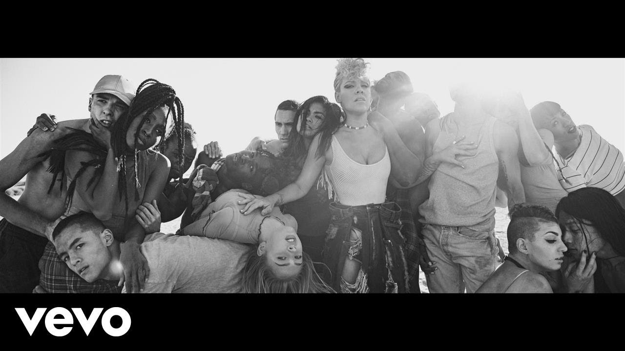 P!nk releases new video for 'What About Us?'