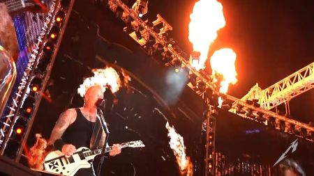Metallica to celebrate conclusion of North American tour with free webcast