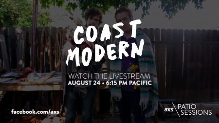 Next up on the AXS Patio Sessions: Coast Modern