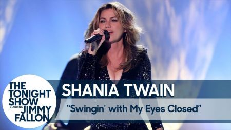 Watch: Shania Twain performs 'Swingin' with My Eyes Closed' on 'The Tonight Show'