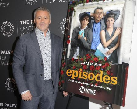 "Beverly Hills, CA - Aug. 16: Matt LeBlanc joins the cast and creators of ""Episodes"" in a special event at The Paley Center for Media."