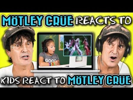 Watch Tommy Lee react to kids seeing old Mötley Crüe video for the first time