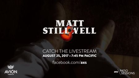 Next up on the AXS Patio Sessions presented by AVIÓN: Matt Stillwell