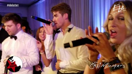 Watch The Chainsmokers perform 'Paris' at friend's wedding reception