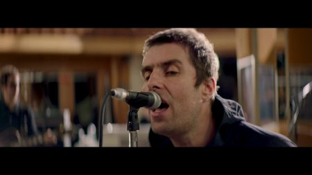 Watch: Liam Gallagher unveils live version of 'For What It's Worth' with string section