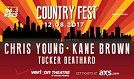 KSCS Country Fest '17 featuring Chris Young tickets at Verizon Theatre at Grand Prairie in Grand Prairie