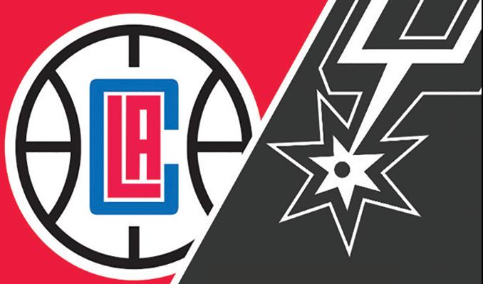 """Résultat de recherche d'images pour """"San Antonio Spurs vs LA Clippers"""""""