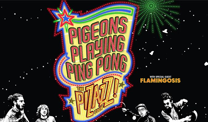 Pigeons Playing Ping Pong tickets at Brooklyn Steel in Brooklyn