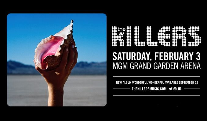 The Killers tickets at MGM Grand Garden Arena in Las Vegas